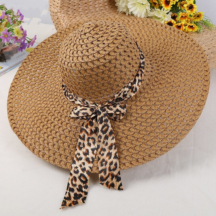 Primary image for 2019  Fashion Sun Hats for Women Girls Wide Brim Floppy Straw Hat Summer Bohemia