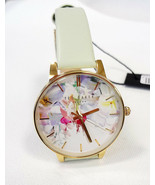 TED BAKER LONDON Women's Watch Floral Pattern Leather Band TE50494004 - ... - $125.00