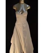 NEW BCBG Max Azaria ATELIER Dress maxi bridal GOWN Black and white *4 (#... - $1,839.84