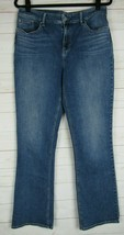 Chicos Juniors Platinum Barely Boot Blue Jeans Size 1R  W1278 - $19.99