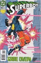Superboy Comic Book Series 3 #11 DC Comics 1995 NEAR MINT NEW UNREAD - $3.25