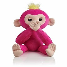 Fingerlings HUGS - Bella (Pink) - Advanced Interactive Plush Baby Monkey... - $48.99