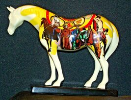 Ceramic Trail Of Painted Ponies #1468 Unity Westland Giftware AA-191996Collec image 4