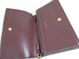 NWT Tory Burch Claret Fleming Wallet Cross Body Bag $328 image 6
