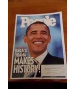 Barack Obama People Magazine November 2008 - set of two issues - $9.90