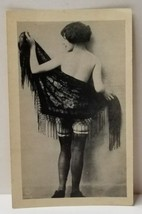 Vintage Risque Photo Lingerie Stockings Early P.C. Paris  - $24.74