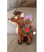 "2015 Santa's Reindeer PRANCER New Licensed Plush NWT Tags 12"" Christmas Xmas - $12.00"