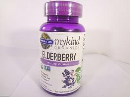 Garden of Life mykind organics Elderberry Immune Gummy 120 Vegan Drops [VS-G] - $22.77