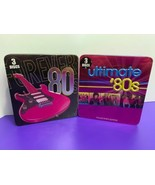 Forever 80's 3 Disc Tin & Ultimate 80's 3 Disc Tin Pre Owned CD's Music - $29.69