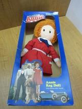1982 Vintage Annie Rag Doll Knickerbocker Toys I3 - $45.53