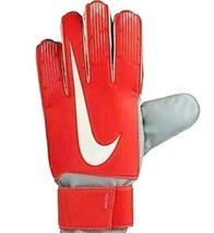 Nike GK Match Goal Keeper Soccer Gloves Red GS0368-671 Youth Unisex Size... - £12.53 GBP