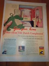 Vintage Old Dutch Cleanser Print Magazine Advertisement 1937 - $4.99