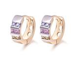 P huggie earrings for women stone crystal cc earings fashion jewelry free shipping thumb155 crop