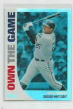 Jim Thome (Chicago White Sox) 2008 Topps Own The Game Insert Card #OTG8 - $2.95