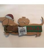 Mud Pie Christmas Dog Collar Small - Fa La La Green Reds - $8.54