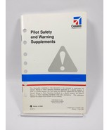 Cessna Pilot Safety and Warning Supplements - $21.33