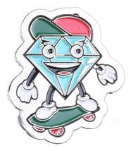 Diamond Supply Co. Métal Lil' Cutty Skateboard Revers Broche Neuf