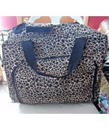 "Leopard print  Travel 20""  x 16"" ROLLING  Suitcase Carry-On Luggage - $53.00"