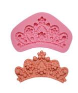 Tiara Silicone Mold, Crown Silicone Mold, Queen Silicone Mold, Silicone ... - $9.99