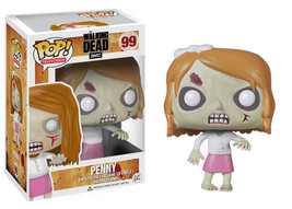 FUNKO POP THE-WALKING DEAD PENNY VINYL FIGURE #99 NEW SEALED - $158.02