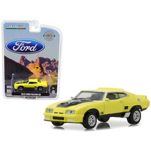 1973 Ford Falcon XB Yellow with Black Stripe Hobby Exclusive 1/64 Diecas... - $12.46