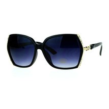 Womens Fashion Sunglasses Square Frame Rhinestones Design UV 400 - $9.95