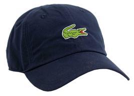 New Lacoste Men's Premium Classic Croc Logo Sport Polyester Adjustable Hat Cap image 8