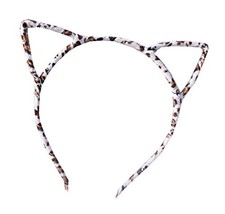 Cat Ear Headband Hair Hoop Hair Band Makeup Headwear Fashion Headbands - D - $10.37