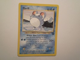 Pokemon Card - Marill - (#29) Black Star Promo Set Rare ***NM*** - $2.99