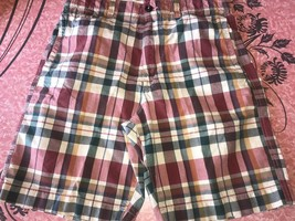 American Eagle Outfitters ~ Men's Plaid Multi-color Causal Shorts 5-Pock... - $15.14