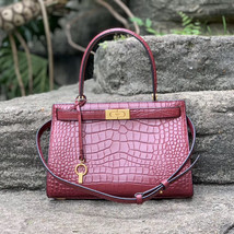 Tory Burch Small Lee Radziwill Embossed Satchel - $644.00