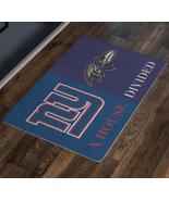House Divided Man Cave Decor NY Giants Ravens Doormat Entryway Custom Ru... - $29.87