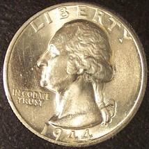1944-D Silver Washington Quarter BU #0644 - $26.99
