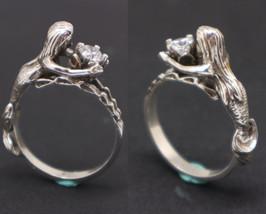 Sterling Silver Mermaid Ring - $102.00