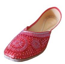 Womne Shoes Jutti Indian Handmade Leather Oxfords Mojari Flat US 9  - £32.69 GBP