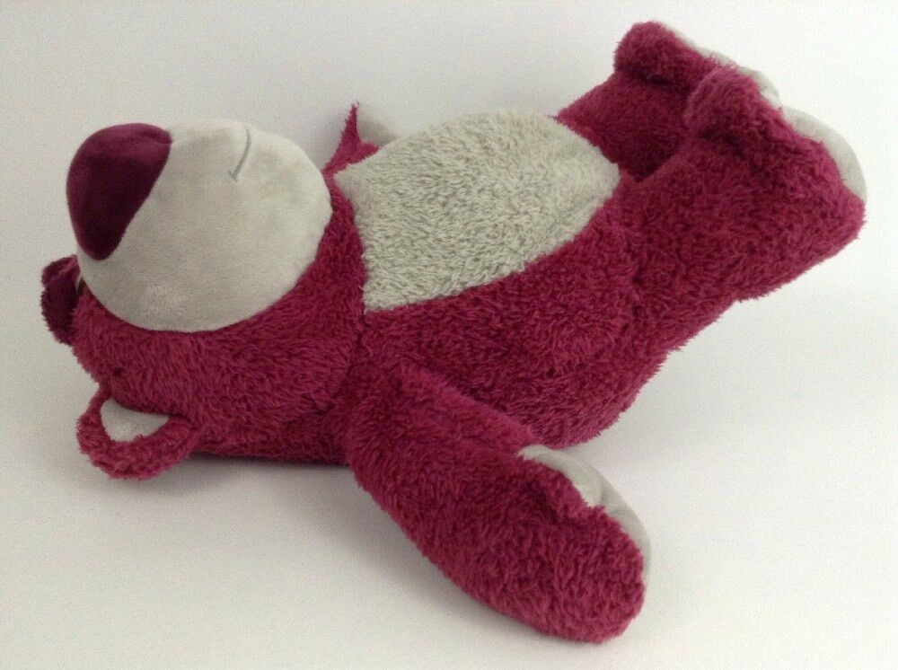 "Toy Story 3 Lotso Scented Strawberry Bear 14"" Plush Stuffed Animal Disney Store image 2"