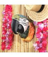 Paradise Parrot Head Wall Sculpture - $49.55