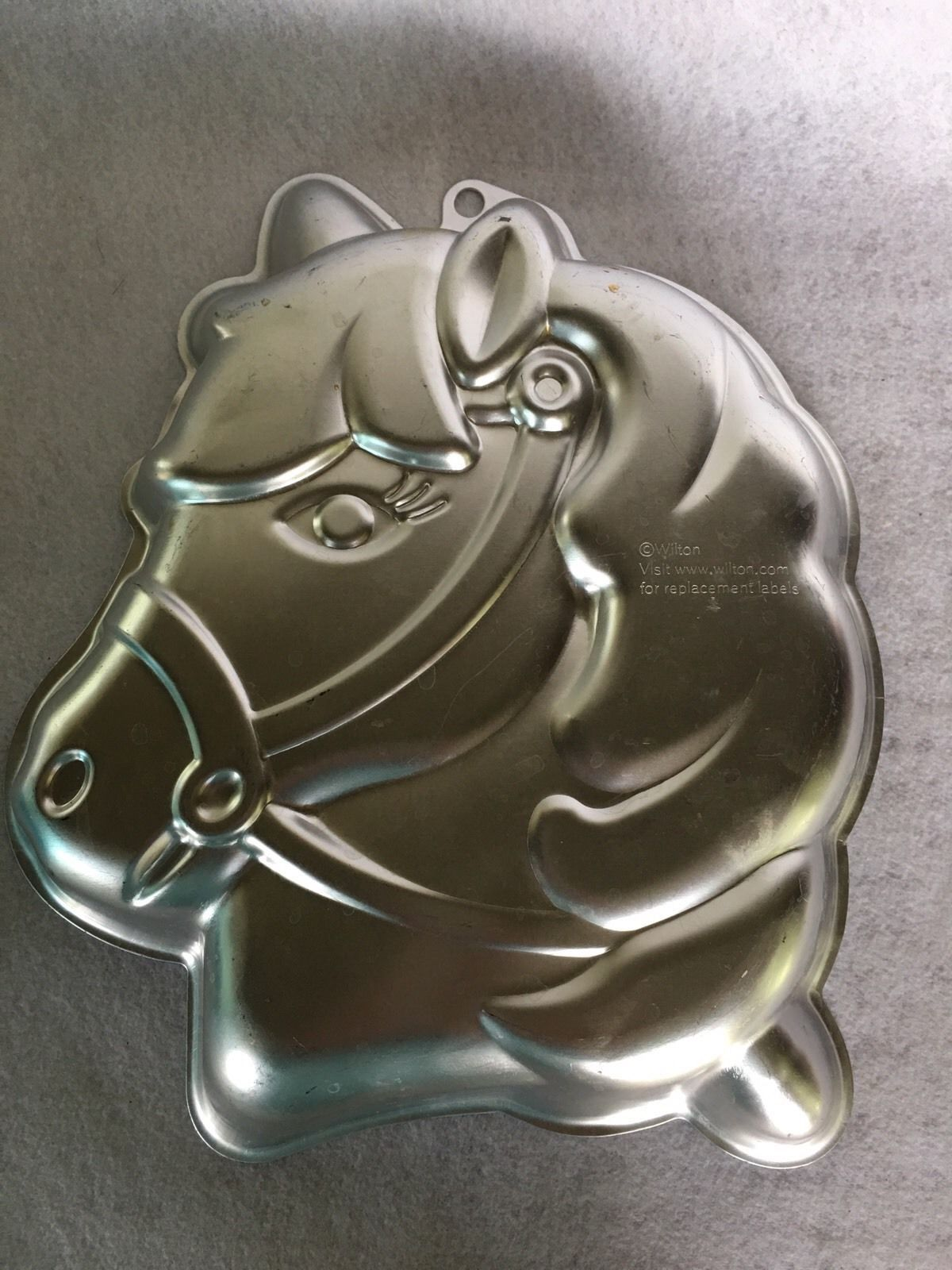 Wilton Aluminum Cake Pan Pony And 30 Similar Items