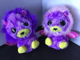 Spin Master Hatchimals Surprise Ligull Twins Purple Pink Yellow Hatched K06 - $19.79