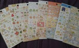 1 Sumikko Gurashi San-X Sticker Sheet Kawaii  US SELLER! FAST SHIPPING! - $2.60