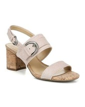 Naturalizer Kaylee Faux Suede Open Toe Dress Slingback Sandals Size 8 9 NEW $79 - $39.60+