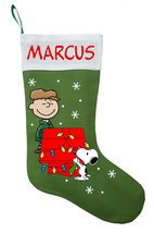 Charlie Brown Christmas Stocking - Personalized and Hand Made - $29.99