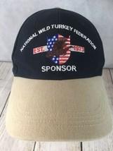 National Wild Turkey Federation Sponsor EST. 1973  Baseball Hat Cap Adju... - $16.78