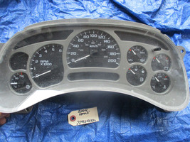 03-06 Yukon Denali instrument cluster speedo OEM 15182145 gauge cluster - $279.99