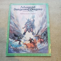 Adventure Pack I Supplement Advanced Dungeons and Dragons AD&D 9202 TSR 1987 - $39.55
