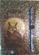 Luna Lakota Owl Spell book with Pen (BOS, Grimoire, Etc) - $18.00