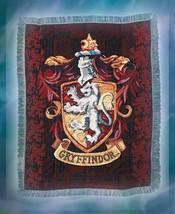 """Harry Potter Gryffindor Sheild 48"""" X 60"""" Tapestry Throw Blanket - $44.67"""