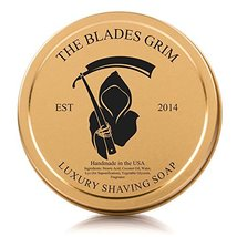 The Blades Grim Gold Luxury Shaving Soap. image 4