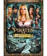 PIRATES STAGNETTI'S REVENGE - JESSE JANE, CARMEN LUVANA ,UNCUT DVD - $19.00