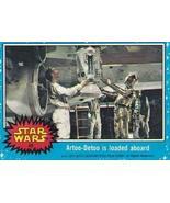 Star Wars 1977 Topps #48 Artoo-Detoo is Loaded aboard Blue set - $2.93